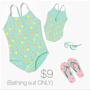 NWT Old Navy Swimsuit for Girls - Mint Green XS
